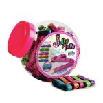 DJ.252 Jelly Tape Measure Jar: 60 Pieces